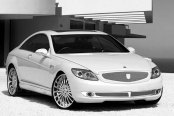 ASANTI® - AF122 Chrome on Mercedes CL Class