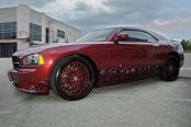 ASANTI® - AF122 Custom Painted on Dodge Charger