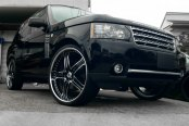 ASANTI® - AF167 Custom Painted on Land Rover Range Rover