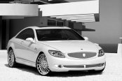 ASANTI® - AFC402 Chrome on Mercedes CL Class