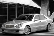 ASANTI® - AFC402 Chrome on Mercedes S Class