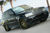 ASANTI® - AFC402 Custom Painted on Land Rover Range Rover