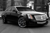 ASANTI® - AFC403 Custom Painted on Cadillac CTS