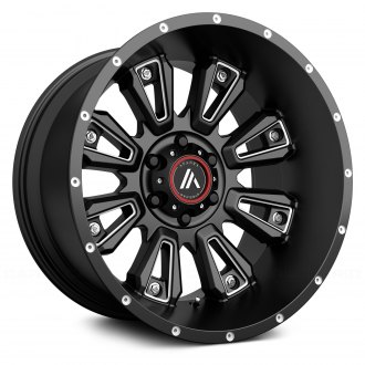 ASANTI Off-Road® - AB808 Gloss Black with Milled Accents