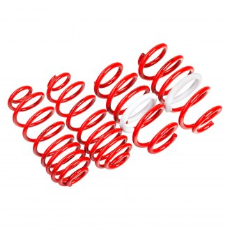 "AST Suspension® - 1.6"" x 0.8"" Front and Rear Lowering Coil Springs"