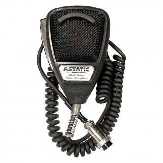 Astatic® - Black Noise Canceling CB Microphone