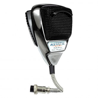 Astatic® - Chrome Noise Canceling CB Microphone