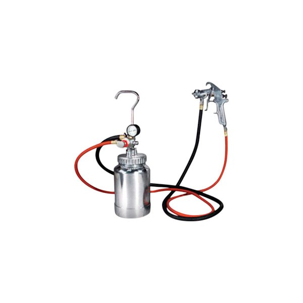 Astro Pneumatic Tool® - 2 Quart Pressure Pot 1.7 mm Spray Gun Kit