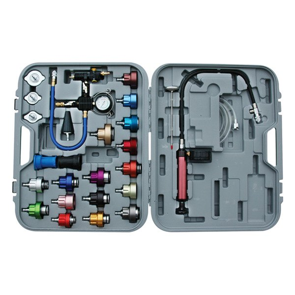 ATD-3302 25 Pc Rel Products Master Cooling System Pressure Test Kit Inc