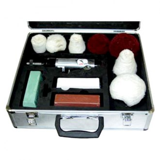 ATD® - 12 Piece Headlight Lens and Metal And Wheel Polishing Kit