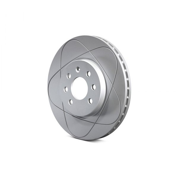 ATE® - PowerDisc Slotted 1-Piece Rear Brake Rotor
