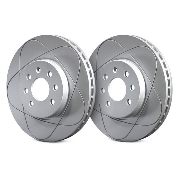 ATE® - PowerDisc Slotted 1-Piece Front Brake Rotor