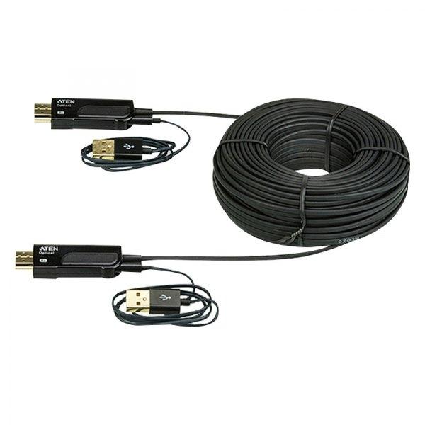 aten ve872 hdmi active optical cable 15m. Black Bedroom Furniture Sets. Home Design Ideas