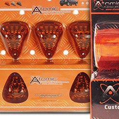 Atomic LED® - LED Strobing Cab Light Amber