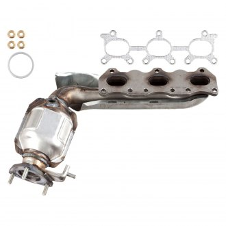 ATP® - Stainless Steel Natural Exhaust Manifold with Integrated Catalytic Converter