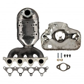 ATP® - Cast Iron Natural Exhaust Manifold with Integrated Catalytic Converter