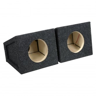 "Atrend® - 6-1/2"" B Box Series Sealed Subwoofer Boxes (Set of 2)"