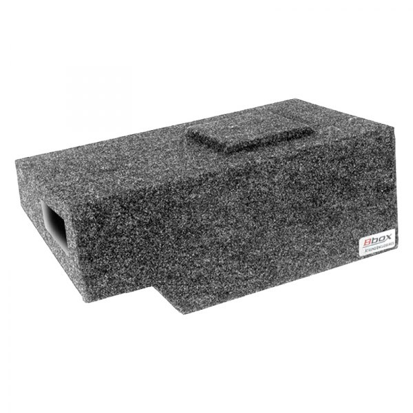 Fits 1999-2007 Chevrolet//GMC Silverado//Sierra Extended Cab Bbox A141-10CPV Single 10 Vented Carpeted Subwoofer Enclosure