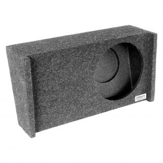 "Atrend® - 10"" Downward-Firing Sealed Subwoofer Enclosure"