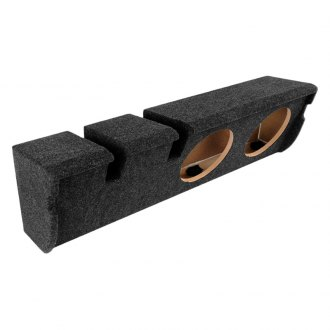 "Atrend® - 10"" 2-Holes Downward-Firing Sealed Subwoofer Enclosure"