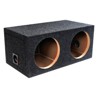 "Atrend® - 10"" B Box Series 2-Holes Sealed Subwoofer Box"