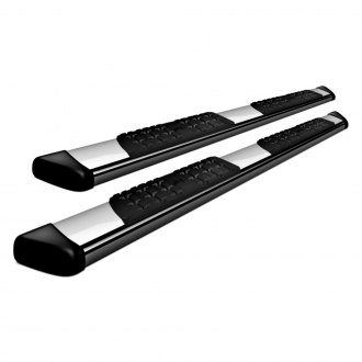 Image may not reflect your exact vehicle! ATS® - E2 Series Chrome Running Boards