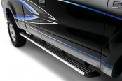 Image may not reflect your exact vehicle! ATS® - Platinum Series Chrome Running Board - Installed