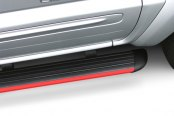 Image may not reflect your exact vehicle! ATS® - SL Series Painted Running Boards - Installed