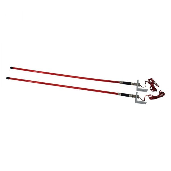 "Attwood® - 29.5"" Red LED Trailer Guide Lights"