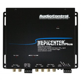 Audio Control® - The Epicenter Plus™ Bass Restoration Processor with AUX Input
