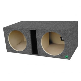"Audio Enhancers® - 12"" 2-Holes Ported Subwoofer Box"