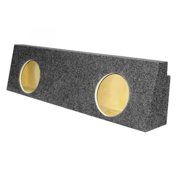 "Audio Enhancers® - 10"" 2-Holes Forward-Firing Sealed Subwoofer Enclosure"