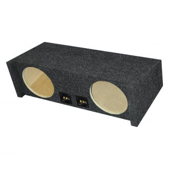 "Audio Enhancers® - 10"" Dual Carpeted Down-Firing Subwoofer Enclosure"