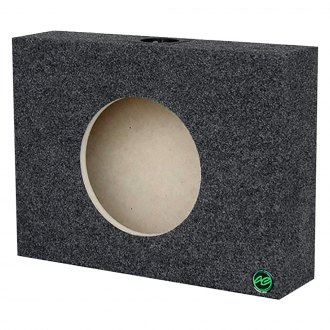 Audio Enhancers® - Carpeted Shallow Mount Subwoofer Enclosure