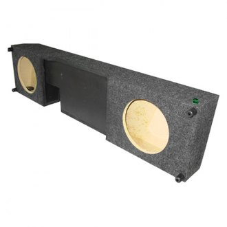 Audio Enhancers® - Carpeted Down-Firing Subwoofer Enclosure