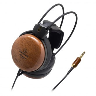Audio-Technica® - Audiophile Closed-back Dynamic Wooden Headphones