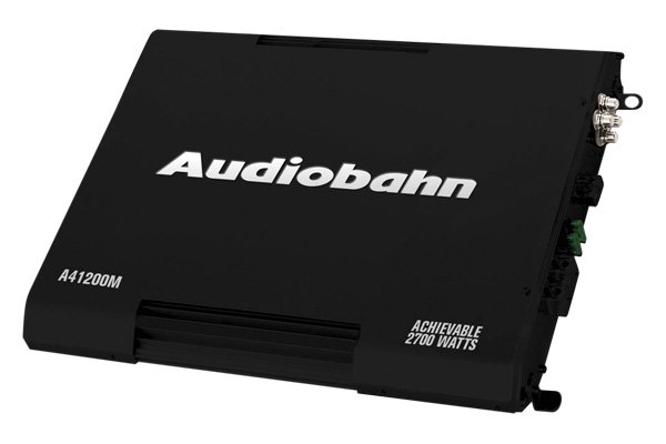Audiobahn® - Swerve Series Class A/B Amplifier
