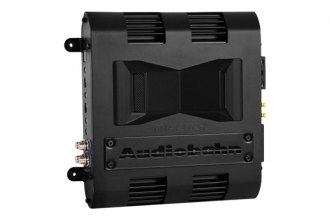 Audiobahn® - Murdered-Out Series Class AB 2-Channel 1200W Amplifier