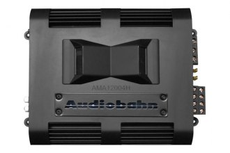 Audiobahn® - Murdered-Out Series Class AB 4-Channel 1200W Amplifier