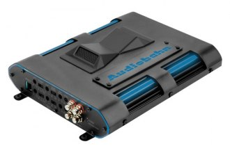Audiobahn® - Murdered-Out Series Class AB 2-Channel 2400W Amplifier