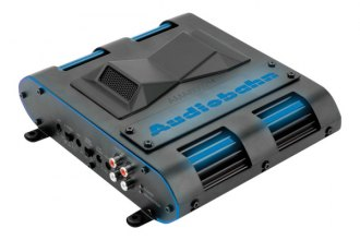 Audiobahn® - Murdered-Out Series Class D 2-Channel 600W Amplifier