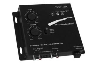 Audiobahn® - Audio Remote Mount Bass Control