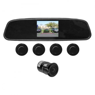 Audiobahn® - Parking Sensor System with Built-in Camera