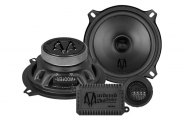 Audiobahn® - Murdered-Out Series Component Speakers Set