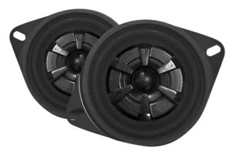"Audiobahn® - 3"" 2-Way Murdered-Out Series 90W Coaxial Speakers"