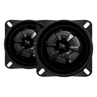 "Audiobahn® - 4"" 2-Way Murdered Out Series 135W Coaxial Speakers"