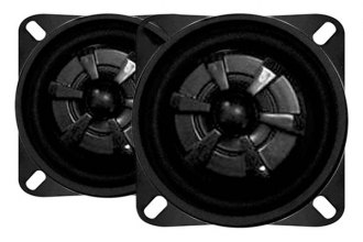 "Audiobahn® - 4"" 2-Way Murdered-Out Series 135W Coaxial Speakers"