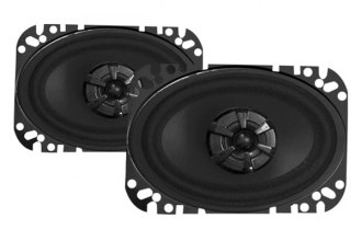 "Audiobahn® - 4"" x 6"" 2-Way Murdered-Out Series 135W Coaxial Speakers"