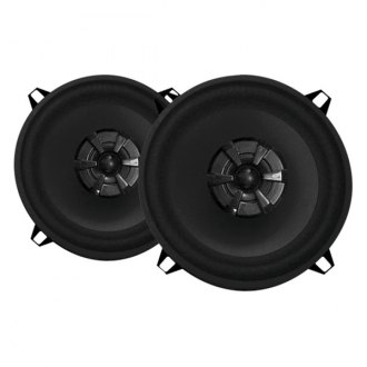 "Audiobahn® - 5-1/4"" 2-Way Murdered Out Series 155W Coaxial Speakers"