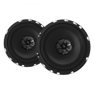 "Audiobahn® - 6-1/2"" 3-Way Murdered Out Series 180W Coaxial Speakers"
